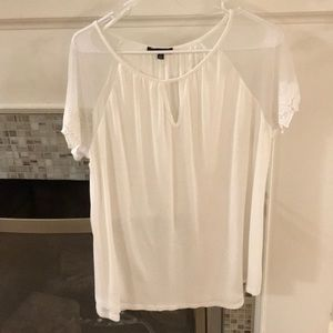 white stylish women shirt